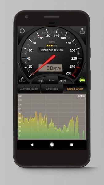 دانلود Speedometer GPS Pro 4.032 نرم افزار نمایش سرعت حرکت برای اندروید