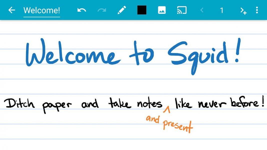 دانلود Squid – Take Notes & Markup PDFs Premium 3.9.2.0 برنامه یاد داشت برداری به صورت دست نویس اندروید
