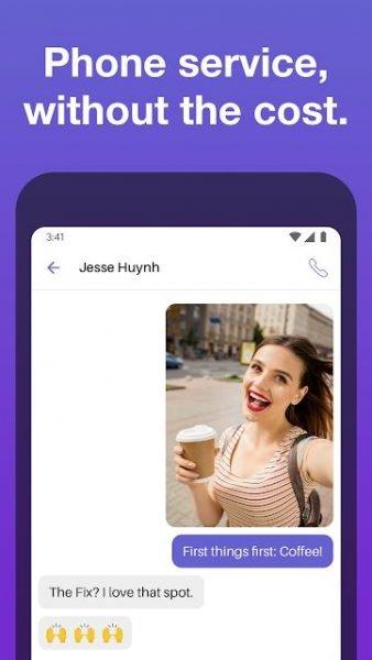 دانلود Text Free: Free Text Plus Call 8.94 برنامه شماره مجازی رایگان آمریکا برای اندروید