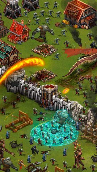 دانلود Throne Rush 5.26.0  بازی یورش تاج و تخت اندروید