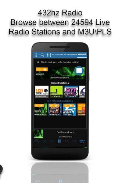 دانلود A 432 Player – Pro Music sound 32.4 بهترین پلیر صوتی با کیفیت اندروید