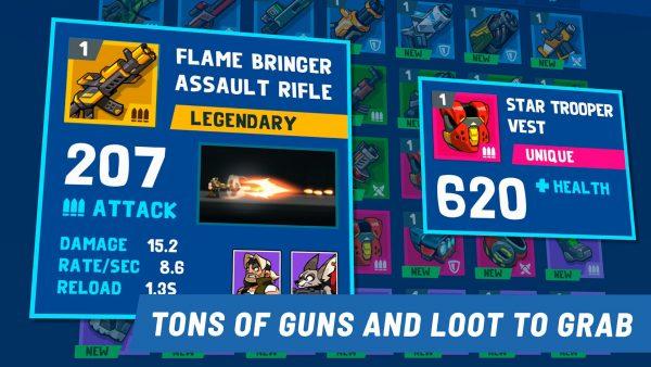 دانلود Bombastic Brothers – Top Squad 1.5.55 بازی اکشن و جالب برادران بمباتیک اندروید + مود + دیتا