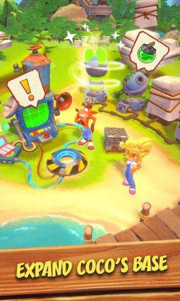 """دانلود Crash Bandicoot Mobile 1.20.68 بازی اکشن فوق العاده جذاب """"کراش باندیکوت"""" اندروید + دیتا"""
