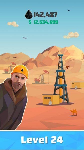"""دانلود Idle Oil Tycoon: Gas Factory Simulator 4.1.9 بازی شبیه سازی """"تاجر نفتی"""" اندروید + مود + تریلر"""