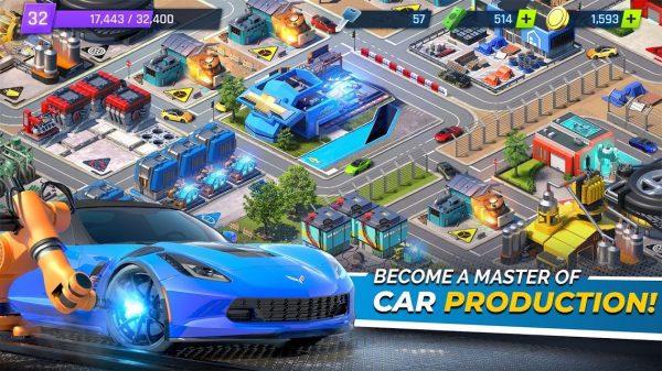 """دانلود Overdrive City – Car Tycoon Game 1.4.25 بازی شبیه سازی """"شهر ماشین ها"""" اندروید"""