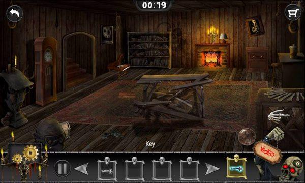 دانلود Dusky Moon – unlock doors and rooms 5.7 بازی ترسناک خشم ماه اندروید + مود