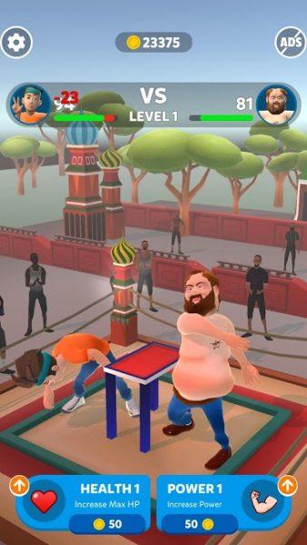 """دانلود Slap Kings 1.3.2 بازی اکشن """"پادشاهان سیلی زنی"""" اندروید + مود + تریلر"""