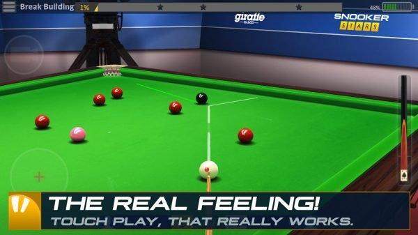 """دانلود Snooker Stars 3D 4.9919 بازی بیلیارد """"ستاره های اسنوکر"""" اندروید + مود"""