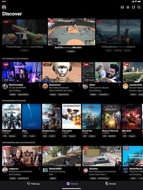 دانلود Twitch: Livestream Multiplayer Games & Esports 11.5.0 برنامه شبکه اجتماعی توئيچ مخصوص اندروید
