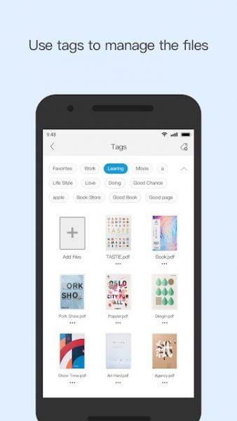 دانلود Foxit Mobile PDF 11.1.5.0909 برنامه خواندن کتاب های PDF اندروید