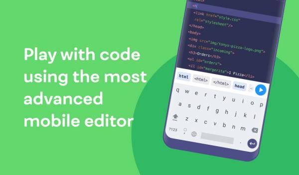 دانلود Mimo: Learn coding in HTML, CSS, JavaScript & more 3.33 اپلیکیشن آموزش کامل برنامه نویسی میمو مخصوص اندروید