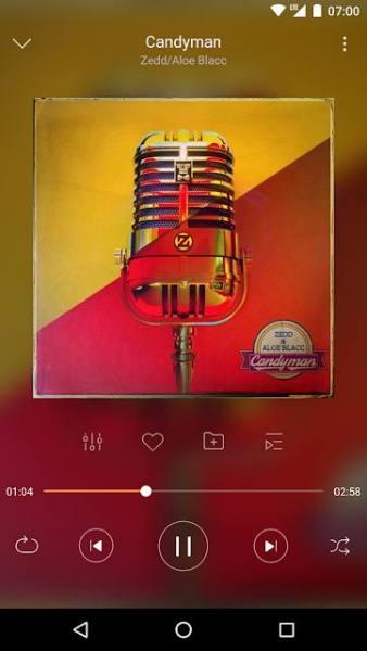 دانلود Music Player – just LISTENit, Local, Without Wifi 1.7.28 موزیک پلیر عالی و با کیفیت اندروید