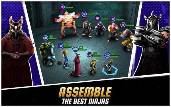 دانلود Ninja Turtles: Legends 1.16.0 بازی اکشن اسطوره لاک پشت های نینجا اندروید + مود +تریلر