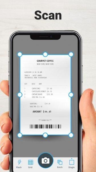 دانلود TapScanner Premium 2.5.56 برنامه اسکنر اسناد و مدارک  اندروید