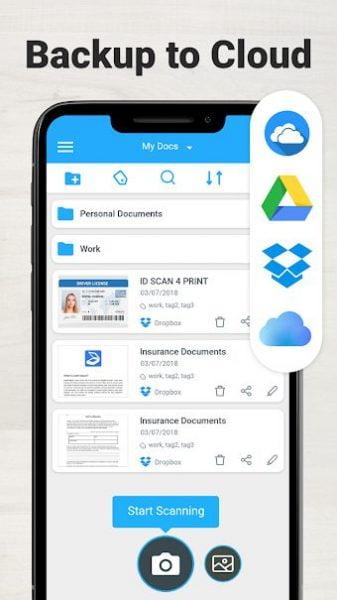 دانلود TapScanner Premium 2.6.10 برنامه اسکنر اسناد و مدارک  اندروید