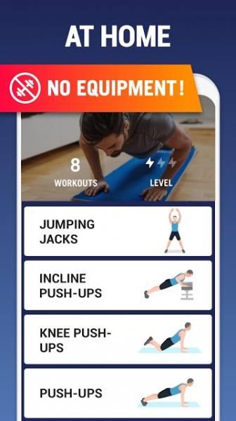 دانلود Home Workout – No Equipment 1.1.3 اپلیکیشن تمرینات ورزشی در خانه مخصوص اندروید