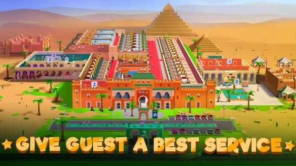 دانلود Hotel Empire Tycoon 1.9.93 بازی شبیه سازی سرمایه دار امپراطوری هتل داری  اندروید + مود