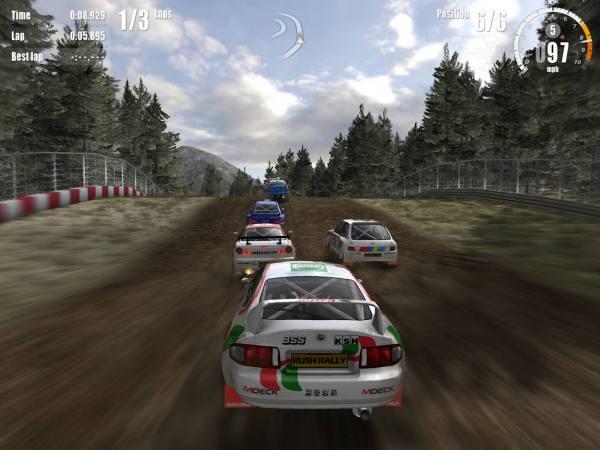 دانلود Rush Rally 3 1.98 بازی مسابقه ای محبوب راش رالی 3 اندروید + مود