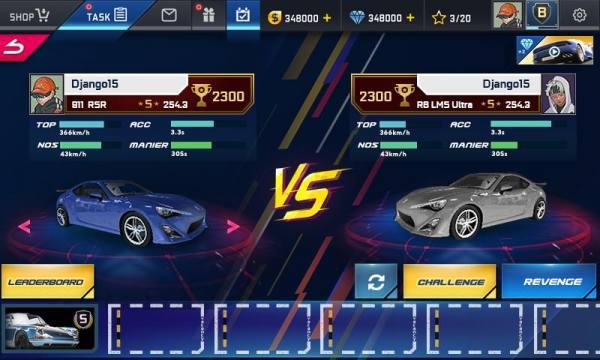 """دانلود Street Racing HD 4.6.9 بازی مسابقه ای """"مسابقات خیابانی"""" اچ دی اندروید + مود"""