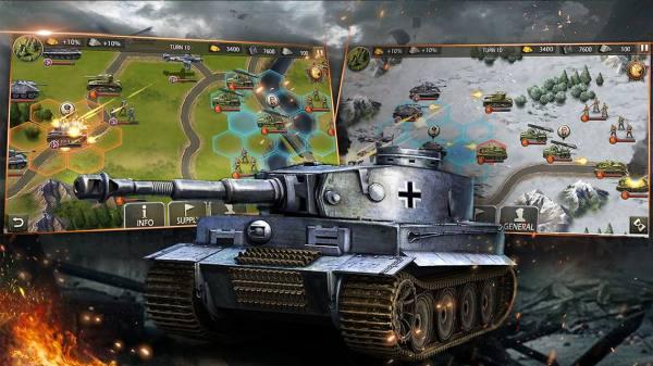 دانلود World War 2: Eastern Front 1942 3.0.0 بازی استراتژیکی جنگ جهانی دوم جبهه شرقی  اندروید + مود