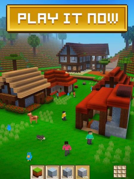 """دانلود Block Craft 3D: Building Simulator Games For Free 2.13.10 بازی شبیه ساز """"بلاک کرافت"""" اندروید + مود"""