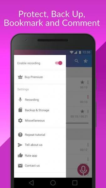 دانلود Cube Call Recorder ACR Premium 2.3.211 برنامه هوشمند ضبط مکالمات اندروید + مود