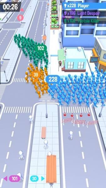 """دانلود Crowd City 2.0.0 بازی آرکید """"شهر شلوغ"""" اندروید + مود"""