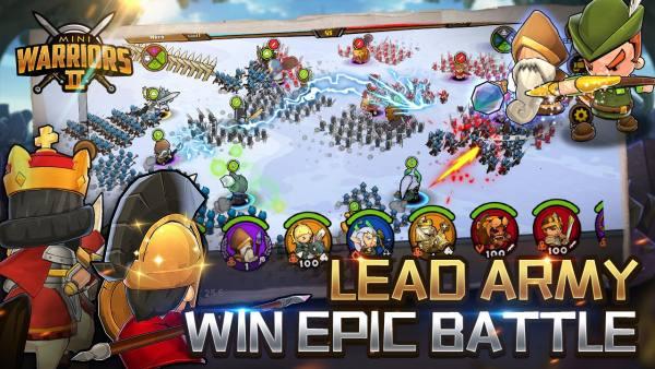 دانلود Mini Warriors 2 – Idle Arena 0.8.0.30 بازی استراتژیک نبرد جنگجویان کوچک 2 اندروید + دیتا