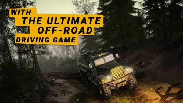 دانلود MudRunner 1.30.8866 بازی گرافیکی ماشین سواری و شبیه سازی رانندگی در مسیر گلی اندروید