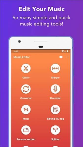 دانلود Music Editor – MP3 Cutter and Ringtone Maker 5.6.6 برنامه قدرتمند ویرایش موزیک اندروید