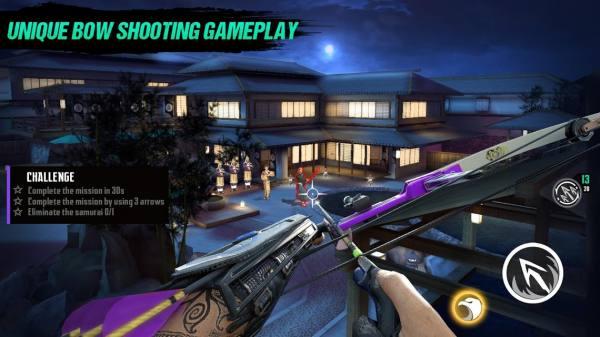 دانلود Ninja's Creed: 3D Sniper Shooting Assassin Game 2.3.0 بازی اکشن  فرقه نینجایی : تیراندازی در خفا اندروید + مود + تریلر