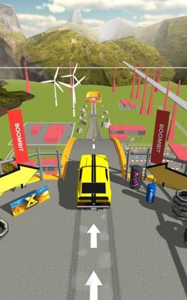 دانلود Ramp Car Jumping 2.0.7 بازی آرکید پرش ماشین ها از روی سکو اندروید + مود