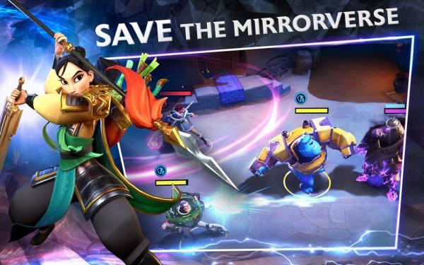 دانلود Disney Mirrorverse 0.13.1 بازی نقش آفرینی جهان معکوس دیزنی اندروید