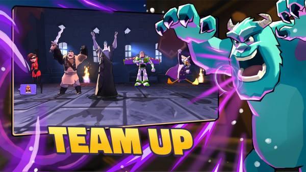 دانلود Disney Sorcerer's Arena 17.0 بازی استراتژیک و نقش آفرینی نبرد جادوگران دیزنی اندروید