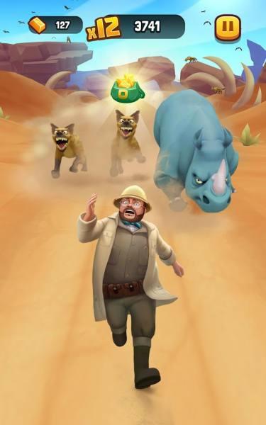 دانلود Jumanji: Epic Run 1.7.7 بازی ماجراجویی دوست داشتنی جومانجی و دوی حماسی اندروید + مود + دیتا