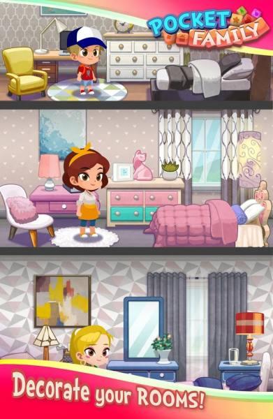دانلود Pocket Family Dreams 1.1.5.16 بازی تفننی و پازلی بسیار زیبای رویاهای خانوادگی اندروید + مود