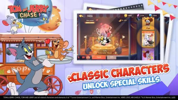 دانلود Tom and Jerry: Chase 5.3.15 بازی تفننی و خاطره انگیز تام و جری و تعقیب اندروید + دیتا