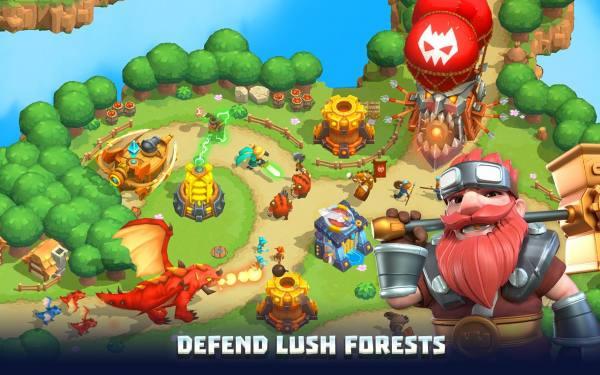 دانلود Wild Sky TD: Tower Defense 1.46.12 بازی برج دفاعی و استراتژیک طوفان آسمانی اندروید + مود