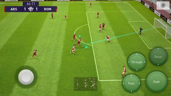 دانلود eFootball PES 2021 5.0.0 بازی فوتبال پی اس 2021 اندروید + دیتا