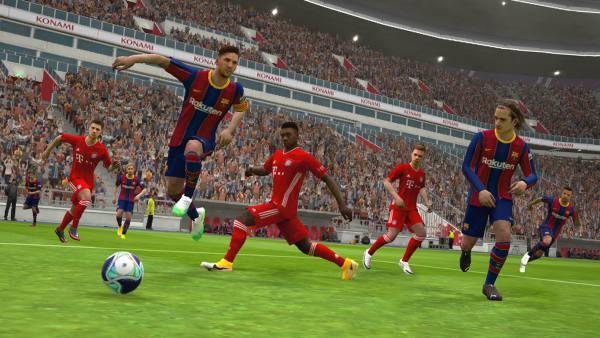 دانلود eFootball PES 2021 5.4.1 بازی فوتبال پی اس 2021 اندروید + دیتا