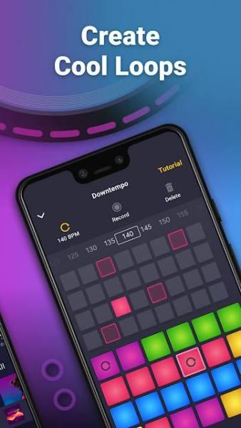 دانلود Drum Pad Machine – Beat Maker Premium 2.10.1 برنامه ساخت موزیک میکس بیت ها اندروید
