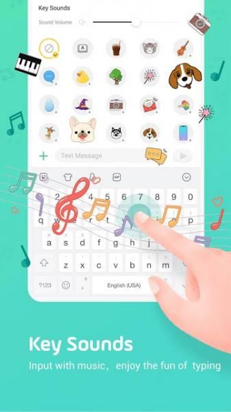 دانلود Facemoji Emoji Keyboard Pro 2.8.0.1 صفحه کلید زیبا و پر امکانات اندروید