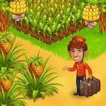 دانلود Farm Paradise – Fun farm trade game at lost island 2.18 بازی مزرعه داری تجارت در جزیره گمشده اندروید + مود