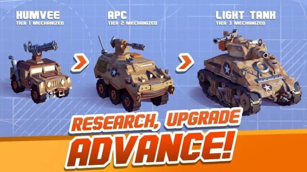 دانلود Hardhead Squad: MMO War 1.9.11778 بازی استراتژیکی گروه سرسخت اندروید