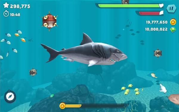 دانلود Hungry Shark Evolution 8.6.0 بازی آرکید اندروید کوسه گرسنه + مود + مگامود