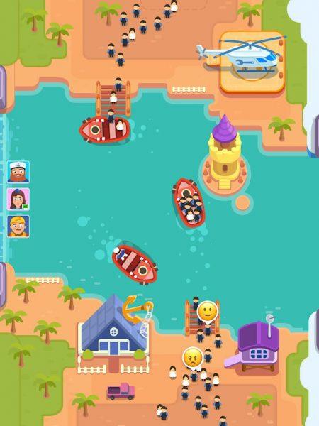 دانلود Idle Ferry Tycoon 1.12.4 بازی شبیه سازی سرمایه دار کشتیرانی اندروید + مود