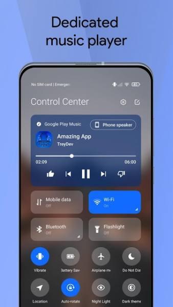 دانلود Mi Control Center: Notifications and Quick Actions 18.0.8 برنامه نوتیفیکیشن و تنظیمات سریع شیائومی  اندروید