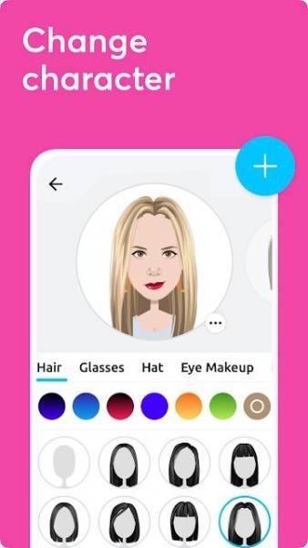 دانلود Mirror Avatar Maker & Emoji Sticker Keyboard Premium 1.32.44 برنامه ساخت استیکر و  آواتار اندروید