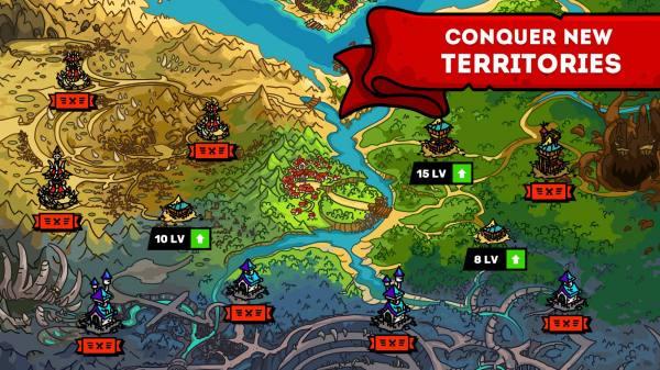 دانلود Towerlands – strategy of tower defense 1.13.1 بازی استراتژیک سرزمین برجک ها اندروید + مود