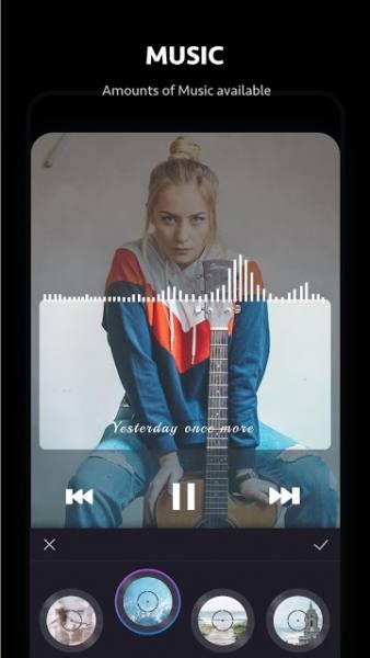 دانلود Beat.ly – Music Video Maker with Effects VIP 1.18.10184 برنامه ساخت موزیک ویدئو اندروید